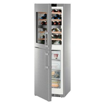 Liebherr SWTNes 4285  D  ,PremiumPlus NoFrost borhűtő-fagyasztó kombináció, 185 cm magas, 60 széles
