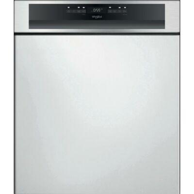 Whirlpool WBO 3T133 PF X beépíthető mosogatógép, D energiaosztály, 14 teríték,  9,5l vízfogyasztás, 10 program, 6. érzék funkció