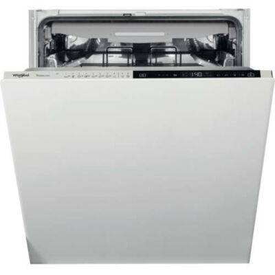 Whirlpool WCIP 4O41 PFE beépíthető mosogatógép, C energiaosztály, 14 teríték, 9,5l vízfogyasztás, 10 program, 6. érzék szenzortechnológia, 3. evőeszközfiók