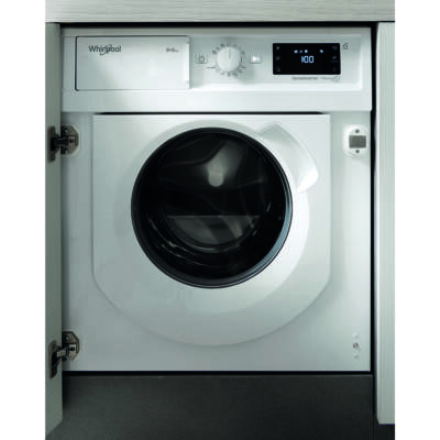 Whirlpool BI WDWG 961484 EU W Collection beépíthető előltöltős mosó-szárítógép 9/6kg 1400f/p