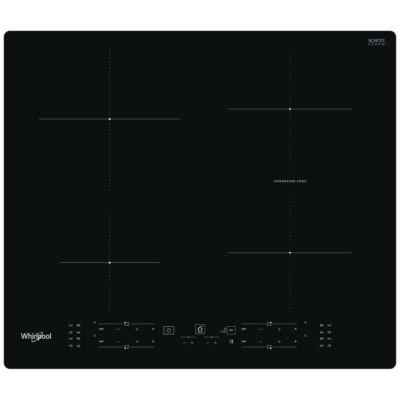 Whirlpool WB B8360 NE indukciós főzőlap zónánkénti  vezérlésű 60cm Connection zóna 6. Érzék automatikus funkciók 7,2kW