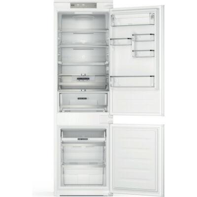 Whirlpool WHC18T573 beépíthető alulfagyasztós hűtőszekrény,otal No Frost technológia, Metal Multiflow,177x54x54,5 cm