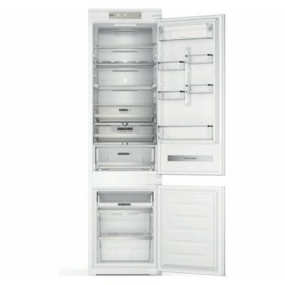 Whirlpool WHC20 T593 P beépíthető alulfagyasztós hűtőszekrény, Total NoFrost,194x54x55 cm,212+68 L