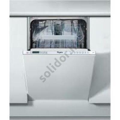 Whirlpool ADG422 mosogatógép teljesen beépíthető 45cm A++ 10 teriték digitális kijelző