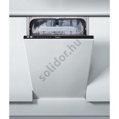 Whirlpool ADG221 mosogatógép teljesen beépíthető 45cm A+ 10 teriték
