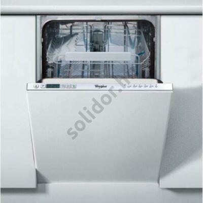 Whirlpool ADG321 mosogatógép teljesen beépíthető 45cm A+ 10 teriték digitális kijelző
