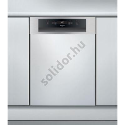 Whirlpool ADG321IX mosogatógép részben beépíthető inox 45cm A+ 10 teriték digitális kijelző