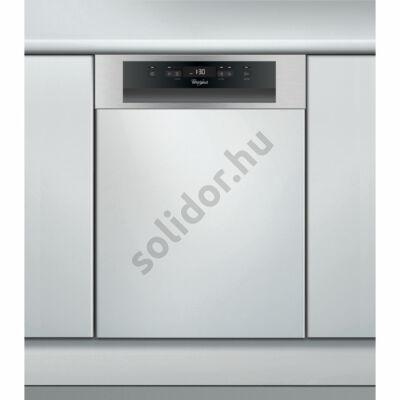 Whirlpool ADG422IX mosogatógép részben beépíthető inox 45cm A++ 10 teriték digitális kijelző