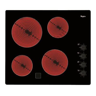 Whirlpool AKM9010NE kerámialap mechanikus kapcsolókkal beépíthető 60cm