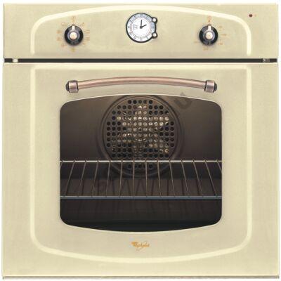 Whirlpool AKP288JA beépíthető elektromos sütő jázmin fehér COUNTRY rusztikus design