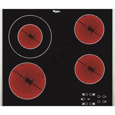 Whirlpool AKT8130LX kerámialap beépíthető 60cm inox keret 1 bővíthető főzőzóna