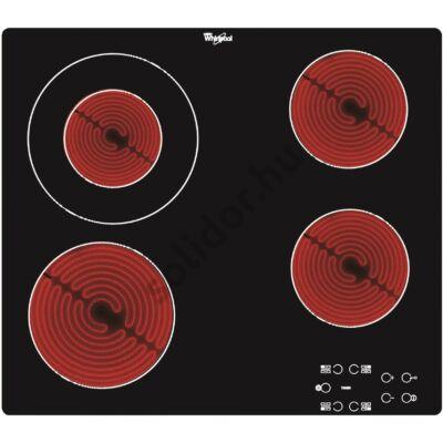 Whirlpool AKT8130NE kerámialap beépíthető 60cm szegély nélküli 1 bővíthető főzőzóna
