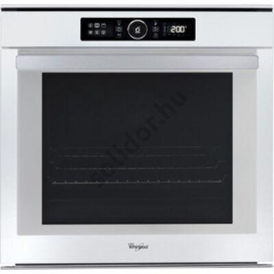 Whirlpool AKZM8480WH pirolítikus öntisztítású beépíthető sütő fehér  ABSOLUTE design 73L