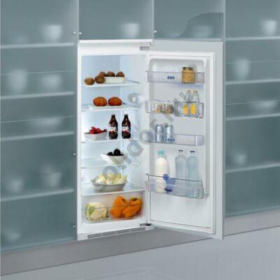 Whirlpool ARG733A+1 egyajtós beépíthető hűtőszekrény A+ 209L 122cm