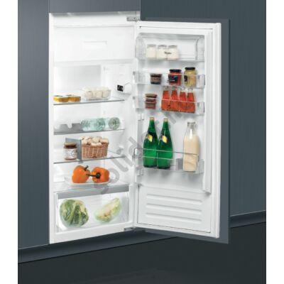 Whirlpool ARG8612A+ egyajtós beépíthető hűtőszekrény A+ 173+18L 122cm