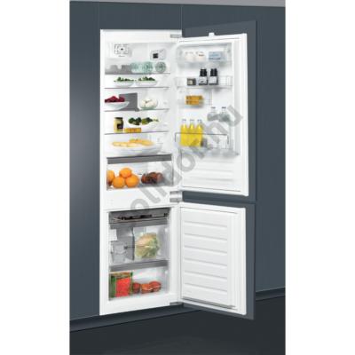 Whirlpool ART6711A++SF beépíthető alulfagyasztós hűtőszekrény A++ 195+80L 177cm StopFrost technológia Premium felszereltség
