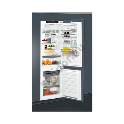 Whirlpool ART8814A+++SFS beépíthető alulfagyasztós hűtőszekrény A+++ 194+72L 177cm StopFrost technológia Premium felszereltség