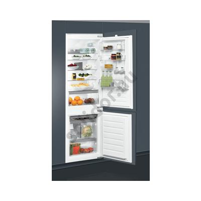 Whirlpool ART6503A+ beépíthető alulfagyasztós hűtőszekrény A+ 195+80L 177cm FrostLess t