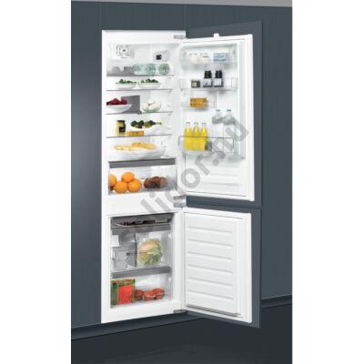 Whirlpool ART6610A++ beépíthető alulfagyasztós hűtőszekrény A++ 195+80L 177cm Core+ felszereltség