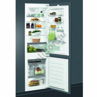 Whirlpool ART6611A++ beépíthető alulfagyasztós hűtőszekrény A++ 195+80L 177cm Premium  felszereltség