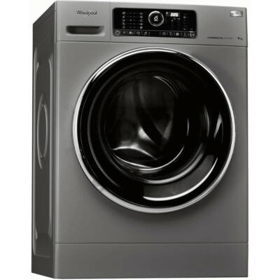 Whirlpool AWG 912 S PRO professzionális mosógép 9 kg kapacitás ezüst színű