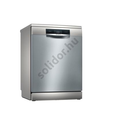 Bosch SMS8YCI01E Serie8 szabadonálló mosogatógép Home Connect inox Perfect Dry szárítás Zeolith 60cm 14 terítékes