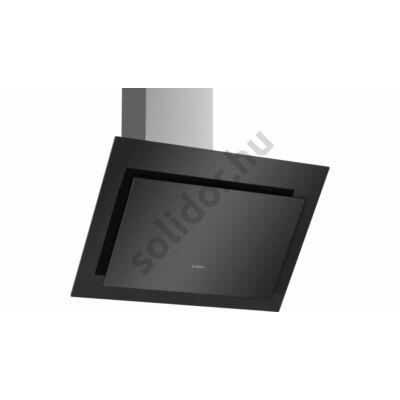 Bosch DWK87CM60 Serie 4 döntött fali páraelszívó 80 cm fekete üvegernyő 700 m3/h LED