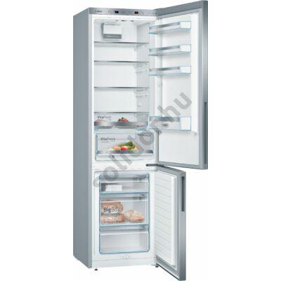 Bosch KGE394LCA Serie 6  249/88L inoxlook alulfagyasztós hűtő 201x60x65cm