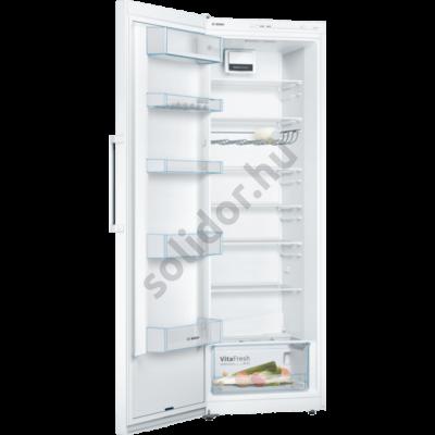 Bosch KSV33VWEP Serie 4 egyajtós hűtő fehér E 324L 176x60x65cm