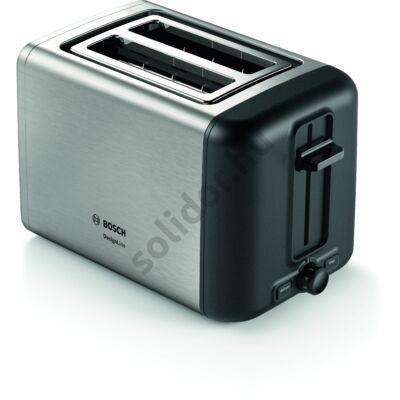 Bosch TAT3P420 DesignLine kenyérpirító inox 2 szeletes