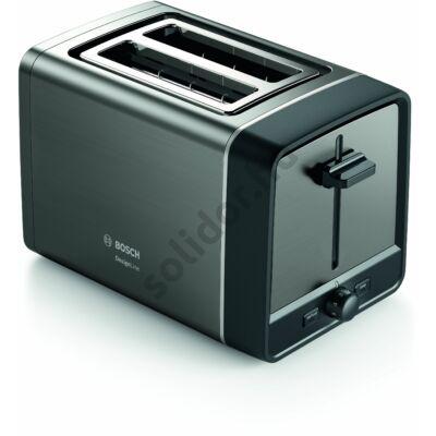 Bosch TAT5P425 DesignLine kenyérpirító antracit metál két szeletes