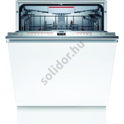 Bosch SMD6ECX57E Serie 6 teljesen beépíthető mosogatógép Home Connect OpenAssist ajtónyitás-segéd funkcióval EfficientDry szárítás 60cm TimeLight