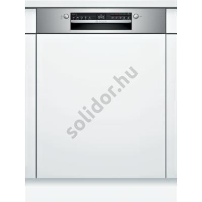 Bosch SMI2HVS20E Serie2 beépíthető mosogatógép Home Connect nemesacél VarioDrawer fiók hőcserélős kondenzációs szárítás 60 cm 13 terítékes