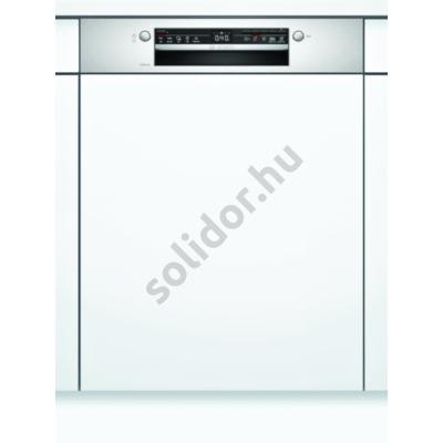Bosch SMI2ITS33E Serie2 beépíthető mosogatógép Home Connect nemesacél kondenzációs szárítás A+ 60 cm 12 terítékes