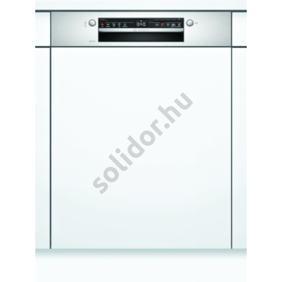 Bosch SMI2ITS33E Serie2 beépíthető mosogatógép Home Connect nemesacél kondenzációs szárítás 60 cm 12 terítékes
