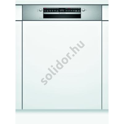 Bosch SMI4HTS31E S4 HC beépíthető mosogatógép nemesacél