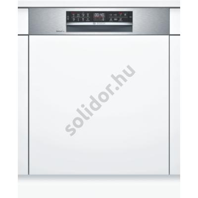 Bosch SMI6ECS51E Serie6 Home Connect beépíthető mosogatógép nemesacél EfficientDry szárítás VarioDrawer kosár  60 cm 13 terítékes
