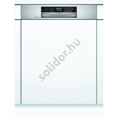 Bosch SMI6ECS57E Serie6 Home Connect beépíthető mosogatógép nemesacél EfficientDry VarioDrawer kosár A++ 60cm 14 terítékes