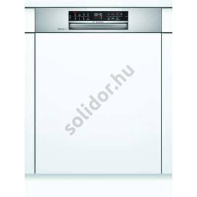 Bosch SMI6ECS57E S6 HC beépíthető mosogatógép nemesacél EfficientDry