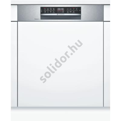 Bosch SMI6ZDS49E Serie6 Home Connect beépíthető mosogatógép nemesacél PerfectDry Zeolith 3. kosár A+++ 60 cm 13 terítékes