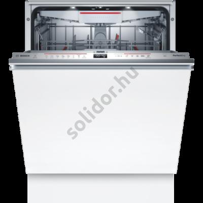 Bosch SMV6ZCX49E Serie6 Home Connect teljesen beépíthető mosogatógép PerfectDry Zeolith VarioDrawer kosár TimeLight A+++ 60 cm 14 terítékes