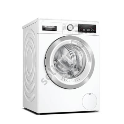 Bosch WAX32KH2BY Serie8 HomeConnect i-Dos elöltöltős mosógép Made in Germany  10kg 1600f/p 4D WashSystem AquaStop Inox-fehér ajtó