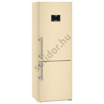 """Liebherr CBNbe5778 Premium BioFresh NoFrost BLUPerformance 7"""" alulfagyasztós hűtő bézs  166/107/108L 201x70x67cm"""