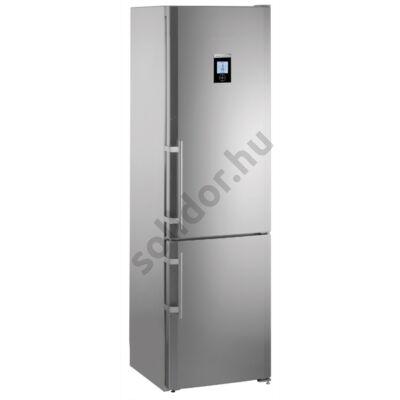 Liebherr CBNPes3967 PremiumPlus NoFrost BioFresh alulfagyasztós hűtőszekrény nemesacél A++ 158/80/84L  201x60x63cm