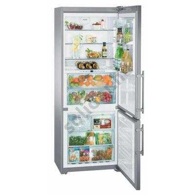 Liebherr CBNPes5167 Premium NoFrost BioFresh IceMaker alulfagyasztós hűtőszekrény nemesacél 200/99/112L  202x75x63cm