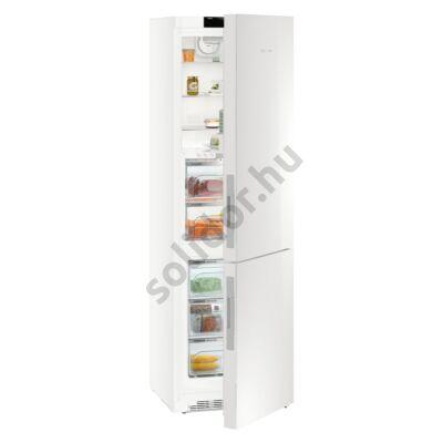 Liebherr CBNPgw4855 Premium BioFresf NoFrost BLUPerformance alulfagyasztós hűtő fehér üveg A+++ -20% 146/98/101L 201x60x66cm