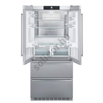Liebherr CBNes6256  PremiumPlus BioFresh NoFrost jégkocka készités nemesacél hűtőszekrény F 289/68/114L 204x91x62cm