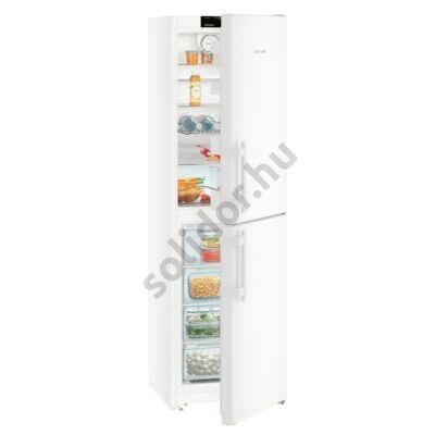 Liebherr CN3915 Comfort NoFrost alulfagyasztós hűtő fehér A++ 221/119L 201x60x63cm