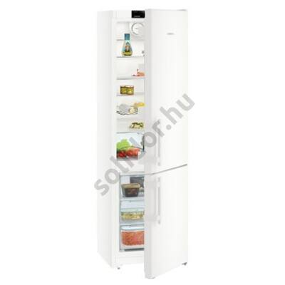 Liebherr CN4015 Comfort A++ NoFrost alulfagyasztós hűtő fehér A++ 269/87L 201x60x63cm