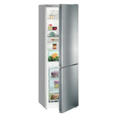 Liebherr CNPel4313 Comfort NoFrost alulfagyasztós hűtő ezüst A+++ 209/95L 186x60x66cm